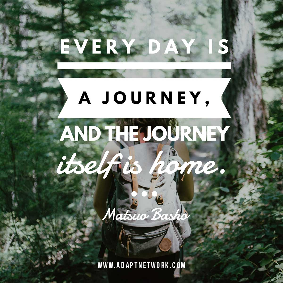 "25 Best Life Journey Quotes On Pinterest: ""Every Day Is A Journey, And The Journey Itself Is Home"