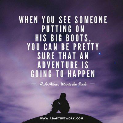 Inspirational Quotes Adventure Quotes Travel Quotes Adapt Network