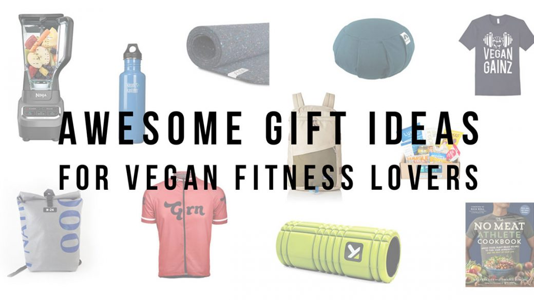 20 gifts for vegan fitness lovers