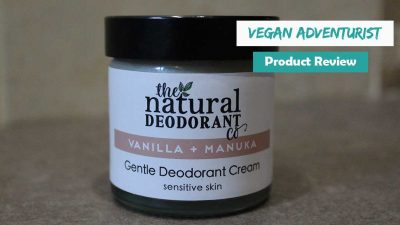 The Natural Deodorant Company review