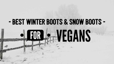 Vegan winter boots and snow boots