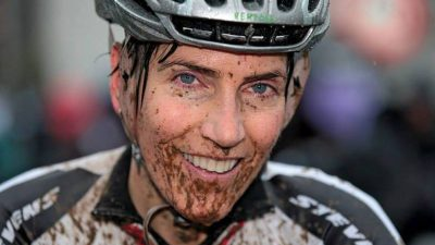 Interview with vegan cyclocross racer Christine Vardaros on riding, food and life