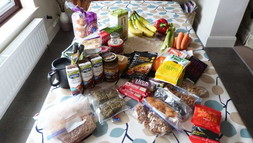 Vegan backpacking food ideas - no stove needed
