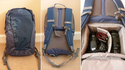 Lowepro Photo Hatchback 22L camera bag review