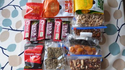 10 best lightweight hiking snacks (that just happen to be vegan!)