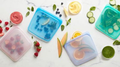 Stasher: The reusable 'ziploc' freezer bag that's plastic free!
