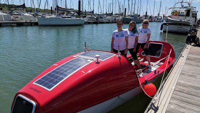 Status Row: This vegan office worker is rowing the Atlantic to fight ocean pollution
