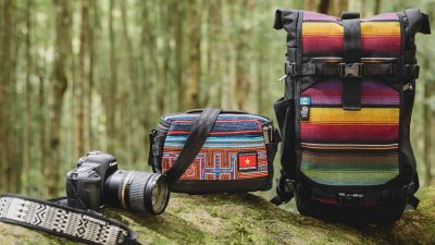 ETHNOTEK's new camera bags are super functional and ethical