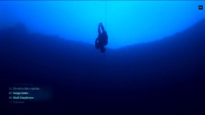 101m World Record Constant Weight No Fins Freedive