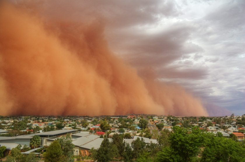 This shot of a haboob was taken in Broken Hill, New South Wales, back in 2010. Photo via Flickr.