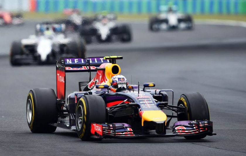 Great win for Red Bull's Ricciardo. Photo: Getty Images/Red Bull Content Pool.
