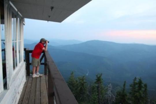 Rent A Fire Tower And Camp In The Sky