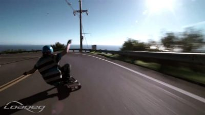 Blisteringly Fast Longboard run from Loaded ambassador Kalil Hammouri