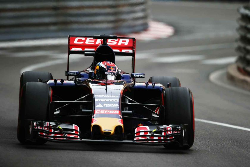 Max Verstappen's Torro Rosso. Photo: Getty Images/Red Bull Content Pool.