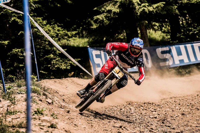 Gwin's still on top of the championship leaderboard. Photo: Bartek Wolinski/Red Bull Content Pool.