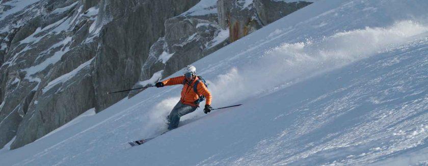 Skiing Chamonix. Photo: Blaise Ulysse Vincent Verien (Flickr)