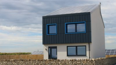 First 'energy positive' house in UK generates more electricity than it uses