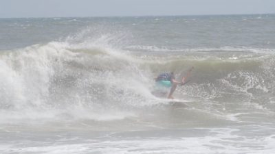 Epic Kitesurfing Conditions on Day 2 of The Cape Hatteras Wave Classic