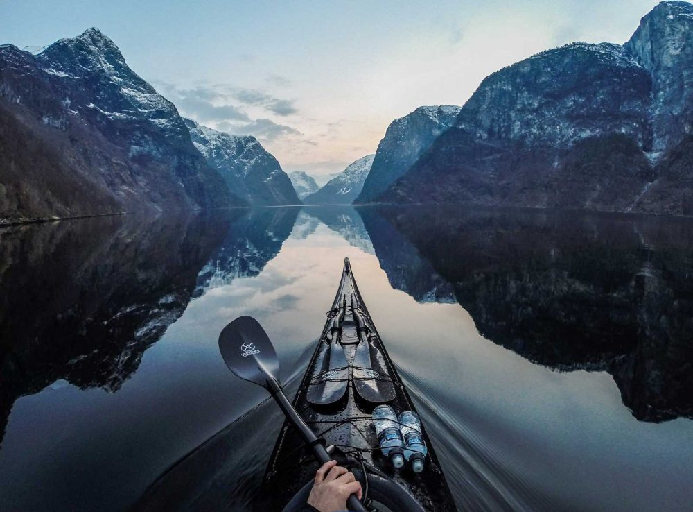 Breathtaking GoPro kayak photography of Norway's fjords Travel Pictures Hd