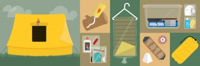 The complete camping packing-list and hack guide