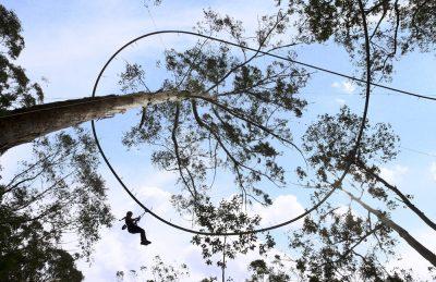 World's Longest Zipline: Part Zipline, Part Roller Coaster, One White-Knuckle Ride
