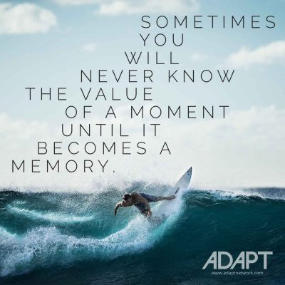 Quote of the Day: Surfing Moments