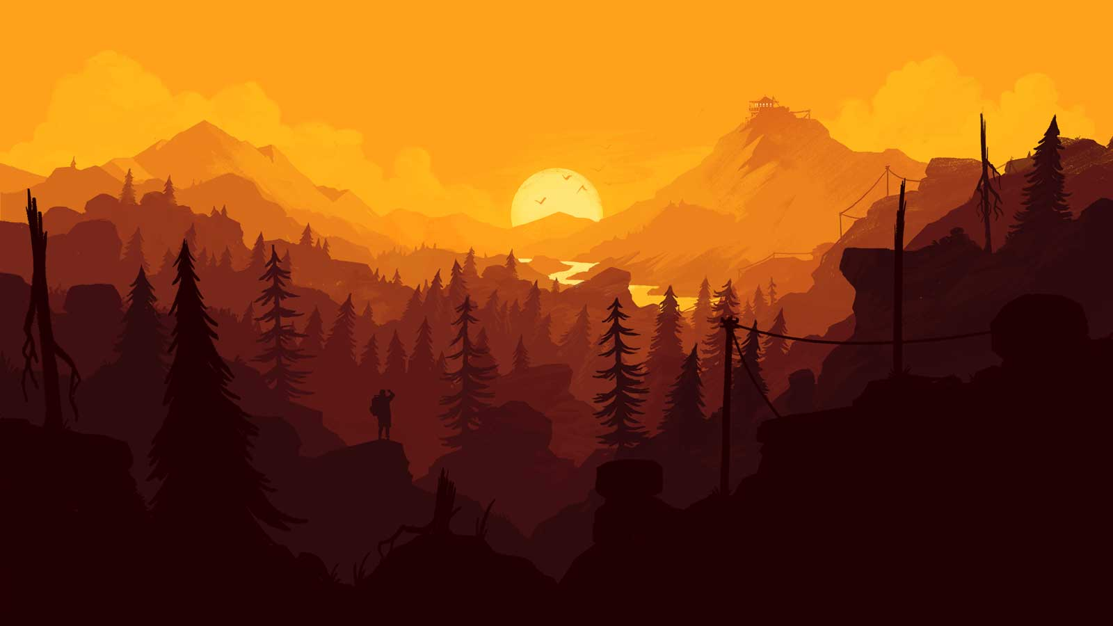 Firewatch Is A Game That Lets You Experience Outdoor Adventure In New Way