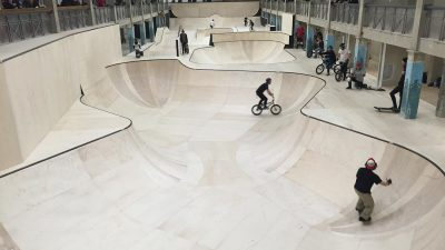 World's largest underground skate park opens in Hastings, UK