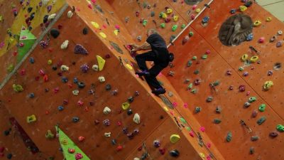 Age is just a number – Rock climbing at 84