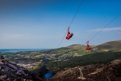 A 100mph zip wire could soon be opening in Wales