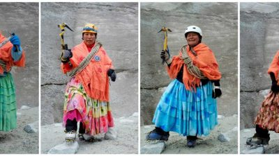 The Rad Cholita Women Climbers of Bolivia