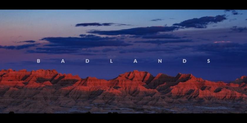 BADLANDS National Park in 8K