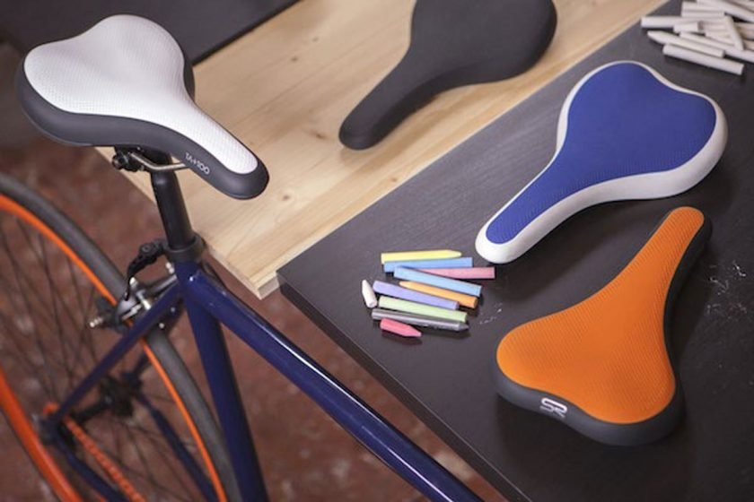 The TA+TOO comes in many colour combinations for a bespoke style. Photo: courtesy Selle Royal