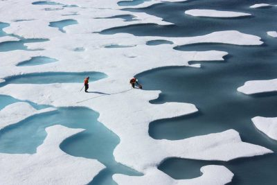 Arctic sea ice shrinks to 2007 level – second lowest level on record