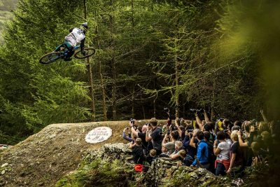 Bernard Kerr's winning run from Red Bull Hardline is Gnarly