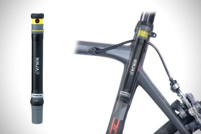 Topeak Ninja P: A Mini Bike Pump that fits Inside your Bike Frame