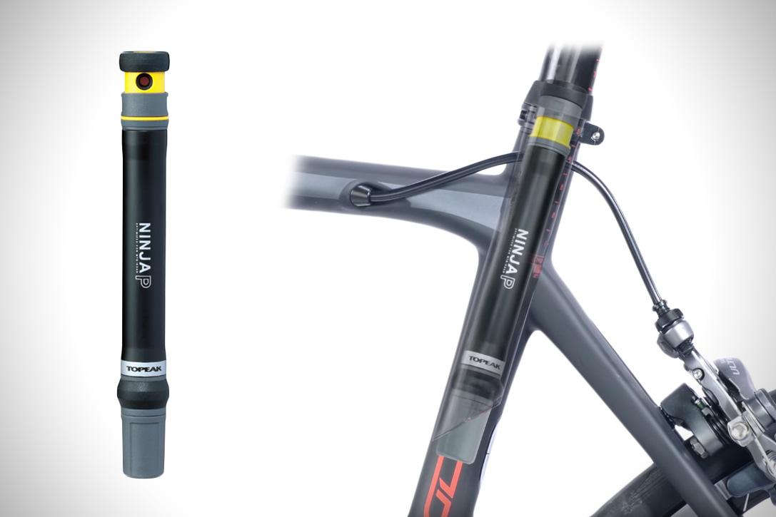 Topeak Ninja P: A Mini Bike Pump that fits Inside your Bike Frame