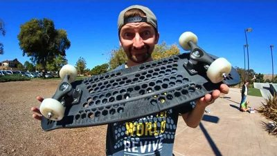 Video: San Diego firm just 3D printed an entire skateboard, and it skates like a dream—kinda!