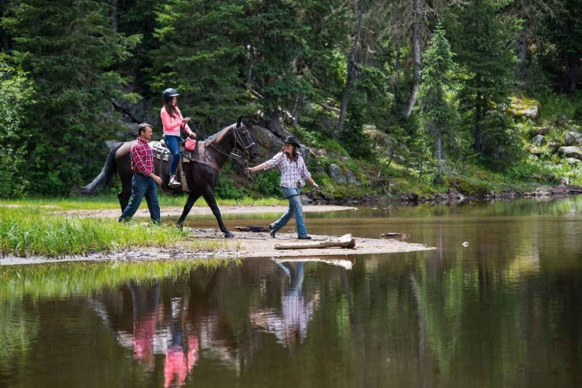 Adventures by horseback are available from the Beaver Creek Stables, throughout the summer season. Photo: Beaver Creek Resort.