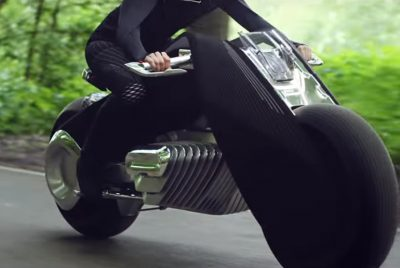 BMW's new motorcycle is supposedly so safe; you don't even need a helmet