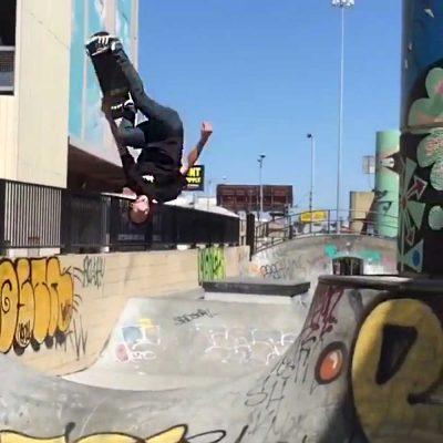 GIF: Skateboarding Backflip— Real Life Tony Hawk's Pro Skater