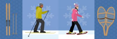 Snowshoeing or Cross-Country Skiing: Which to Try