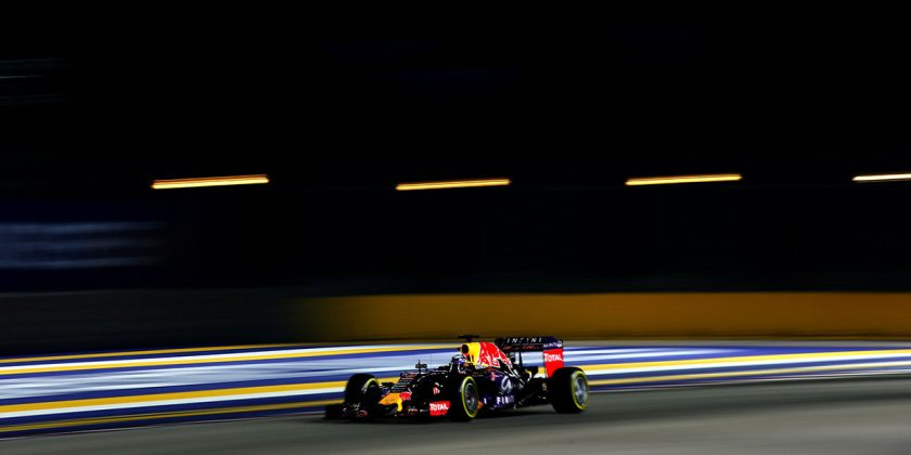 F1 Grand Prix of Singapore Qualifying. Photo: Getty Images/ Red Bull Content Pool