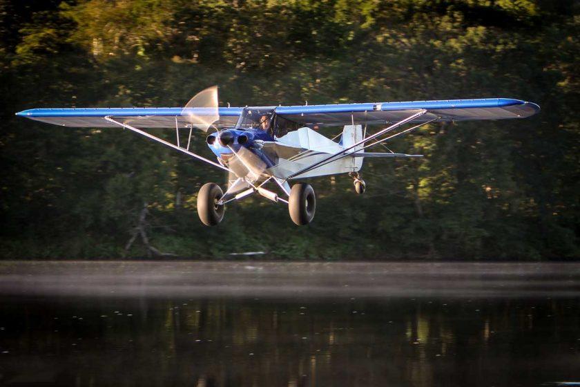 Carbon Cub SS, as seen in the flight sim—Microsoft Flight. Get it? CARBON Cub—I should have been a comedian. Photo: Bill Brine/Flickr
