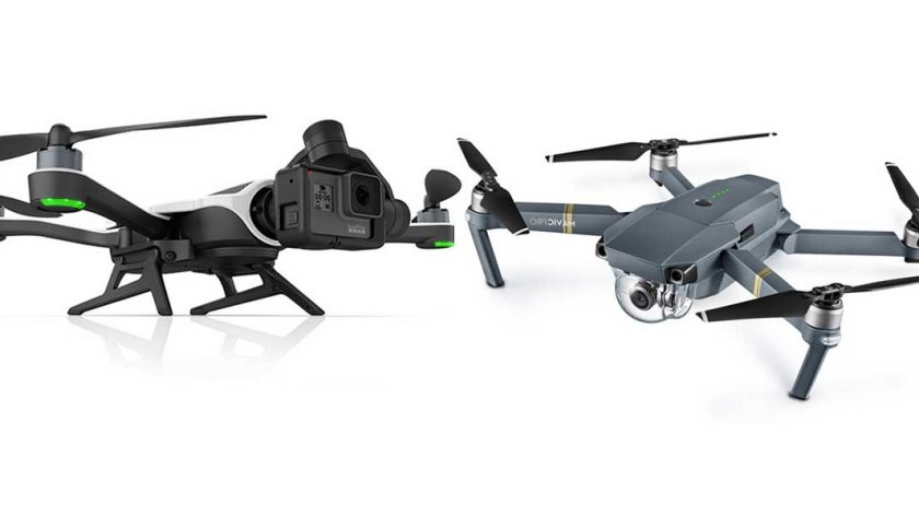 GoPro Karma Vs DJI Mavic Pro Whats New In The World Of Drones