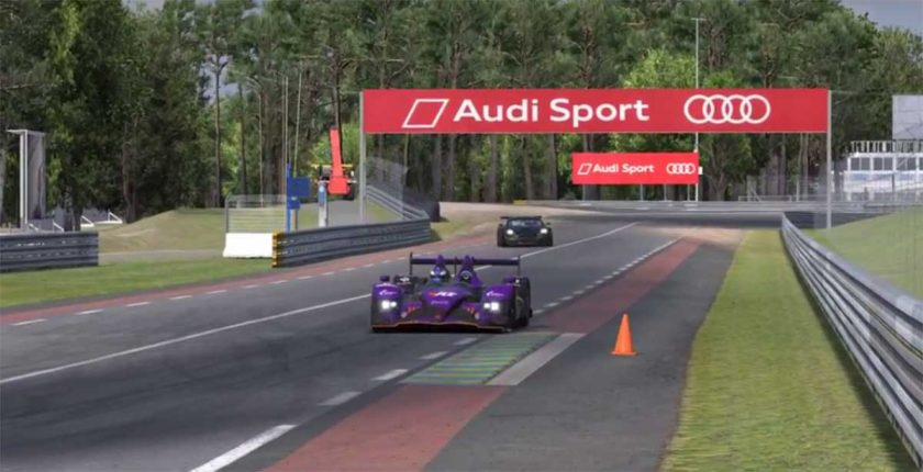 486 teams compete in the inaugural Virtual 24 Hours of Le