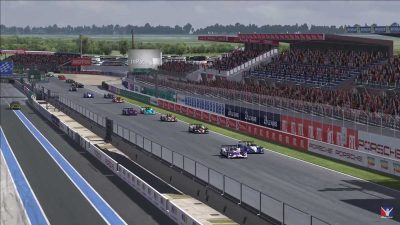 Video: 486 teams compete in the inaugural Virtual 24 Hours of Le Mans Race