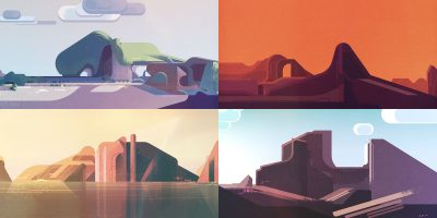 Interview: James Gilleard on art, design and inspiration
