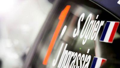 Seb Ogier's new M-Sport WRC Car revealed