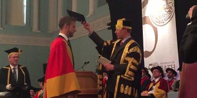 F1 legend, Jenson Button, receives honorary degree from University of Bath